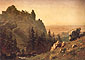 Albert Bierstad, Wind River Country, 1859, oil on canvas, 19.5 x 27.8 in. / 49.5 x 70.5 cm, US$350