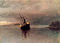 Albert Bierstadt, Wreck of the 'Ancon' in Loring Bay, Alaska, 1889, oil on canvas, 21 x 29.6 in. / 53.4 x 75.3 cm, US$350