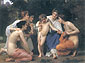 Adolphe William Bouguereau, Admiration, 1897, oil on canvas, 29.7 x 40 in. / 75.5 x 101.6 cm, US$700