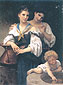 Adolphe-William Bouguereau, The Secret, 1876, oil on canvas, 32 x 24 in. / 81.3 x 60.9 cm, US$550