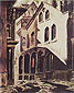 Charles Burchfield, The House of Mystery, 1893, oil on canvas, 32 x 25.1 in. / 81.3 x 63.9 cm, US$280