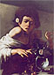 Michelangelo Merisi da Caravaggio, Boy Bitten by a Lizard, 1600, oil on canvas, 26 x 19.5 in. / 66 x 49.5 cm, US$270