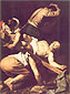 Michelangelo Merisi da Caravaggio, The Crucifixion of St. Peter, 1601, oil on canvas, 45.3 x 34.4 in. / 115 x 87.5 cm, US$460