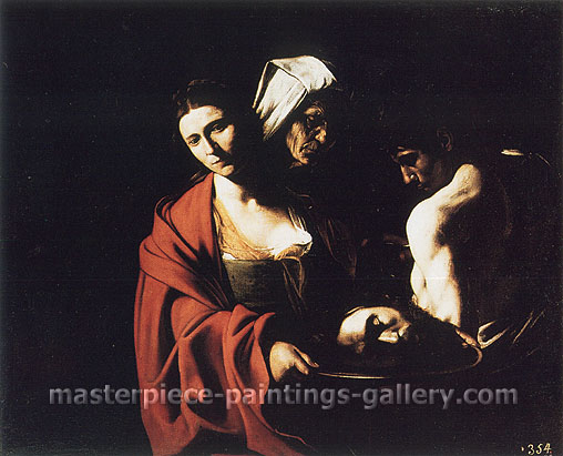 Michelangelo Merisi da Caravaggio, Salome with the Head of St. John the Baptist, 1606, oil on canvas, 45.7 x 55.1 in. / 116 x 140 cm, US$560