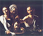 Michelangelo Merisi da Caravaggio, Salome with the Head of St. John the Baptist, 1606, oil on canvas, 36 x 42.1 in. / 91.5 x 107 cm, US$430