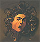 Michelangelo Merisi da Caravaggio, Head of Medusa, 1595, oil on canvas, 24.8 x 23.6 in. / 62.9 x 60 cm, US$290