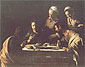 Michelangelo Merisi da Caravaggio, Supper in Emmaus, 1606, oil on canvas, 44.4 x 55.1 in. / 112.8 x 140 cm, US$560