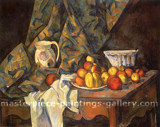 Paul Cezanne, Still Life with Apples and Peaches, 1905, oil on canvas, 32 x 39.4 in. / 81.2 x 100 cm, US$360