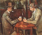 Paul Cézanne, The Card Players 2, 1890-92, oil on canvas, 32 x 39.4 in. / 81.2 x 100 cm, US$360