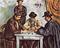 Paul Cézanne, The Card Players | Les Joueurs de caltes, 1890-92, oil on canvas, 25.6 x 32.2 in. / 65 x 81.7 cm, US$290