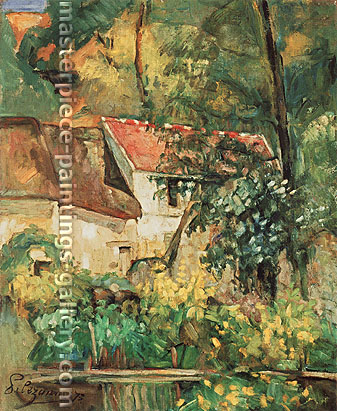 Paul Cézanne, The House of Pare Lacroix in Auvers, 1873, oil on canvas, 30.6 X 25.6 in. / 77.8 x 65 cm, US$270