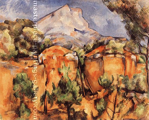 Paul Cézanne, Mont Saint-Victoire Seen from Bibemus, 1898, oil on canvas, 25.6 x 31.9 in. / 65 x 81 cm, US$290