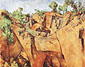 Paul Cézanne, Quarry at Bibemus, 1898-1900, oil on canvas, 25.6 x 31.9 in. / 65 x 81 cm, US$290