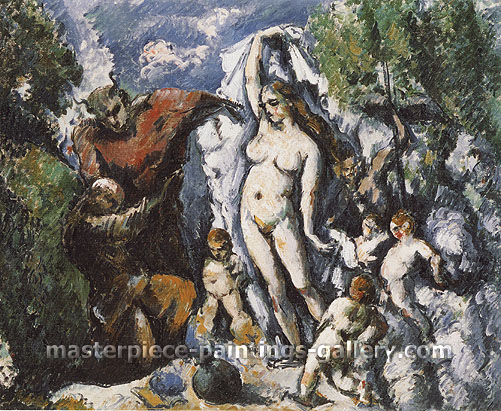Paul Cézanne, The Temptation of St. Anthony, 1873-77, oil on canvas,25.2 x 30 in. / 63.9 x 76.2 cm, US$270