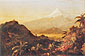 Frederick Edwin Church, South American Landscape, 1856, oil on canvas, 18.9 x 29 in. / 48 x 73.6 cm, US$440