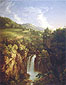 Thomas Cole, Genesee Scenery, 1847, oil on canvas,51 x 39.5 in. / 129.5 x 100.3 cm, US$550