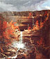Thomas Cole, Kaaterskill Falls a.k.a. Falls of the Kaaterskill, 1826, oil on canvas, 43 x 36 in. / 109.2 x 91.4 cm, US$650