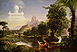 Thomas Cole, Journey of Life - Youth, 1842, oil on canvas, 15.5 x 23 in./ 58.4 x 39.5 cm, US$290