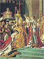 Jacques-Louis David, Coronation of Empress Josephine (Detail 2), 1807, oil on canvas, 32 x 24 in. / 81.3 x 60.9 cm, US$650