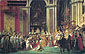 Jacques-Louis David, Consecration of the Emperor Napoleon I and Coronation of the Empress Josephine in the Cathedral of Notre-Dame de Paris on 2 December 1804 | Le sacre de l'Empereur Napoleon, 1807, oil on canvas, 30 x 47.2 in. / 76.1 x 120 cm, US$960