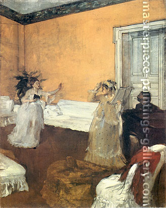 Edgar Degas, The Duet, 1868, oil on canvas, 31.9 x 25.6 in. / 81 x 65 cm, US$450