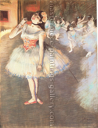 Edgar Degas, The Star | L'Etoile, 1879, oil on canvas, 28.9 x 22.6 in. / 73.3 x 57.5 cm, US$330
