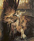 Herbert Draper, Lament for Icarus, 1898, oil on canvas, 72 x 61.3 in. / 182.9 x 155.6 cm, US$920