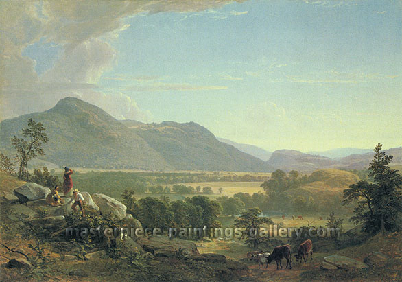 Asher B. Durand, Dover Plains, Dutchess County, New York, 1848, oil on canvas, 25.3 x 36 in. / 64.2 x 91.4 cm, US$540