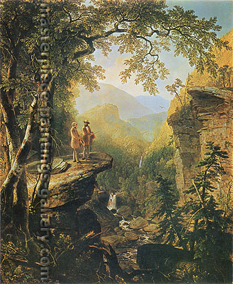 Asher Brown Durand, Kindred Spirits, 1849, oil on canvas, 44 x 36 in. / 111.8 x 91.4 cm, US$670