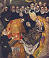 El Greco, The Burial of Count Orgaz (Detail 2), 1586, oil on canvas, 32 x 26.9 in. / 81.3 x 68.4 cm, US$365