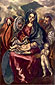 El Greco, Holy Family, 1597-1601, oil on canvas, 44.1 x 27.1 in. / 112 x 68.8 cm, US$460