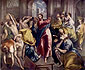 El Greco, Cleansing of The Temple, 1584-94, oil on canvas, 41.5 x 50.5 in. / 105.4 x 128.3 cm, US$660