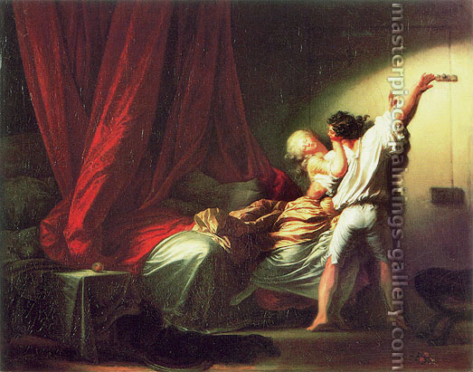 Jean Honore Fragonard, The Bolt, 1778, oil on canvas, 28.8 x 36.8 in. / 73 x 93 cm, US$460