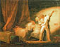 Jean Honore Fragonard, The Bolt, 1776, oil on canvas, 20.5 x 25.6 in. / 52 x 65 cm, US$300