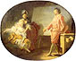 Jean Honore Fragonard, The New Model, 1760, oil on canvas, 21.3 x 25.6 in. / 54 x 65 cm, US$320