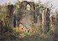 Caspar David Friedrich, Ruin at Eldena | Eldena Ruin | Ruine Eldena, 1825, oil on canvas, 25.6 x 36.2 in. / 65 x 91.9 cm, US$415