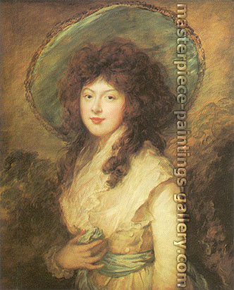 Thomas Gainsborough, Miss Catherine Tatton, 1785, oil on canvas, 24 x 20 in. / 61 x 50.8 cm, US$360