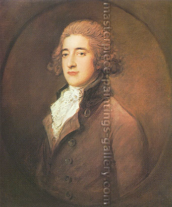Thomas Gainsborough, The Earl of Darnley, 1785, oil on canvas, 16 x 13.3 in. / 40.6 x 33.9 cm, US$245