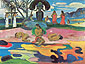 Paul Gauguin, Day of God | Mahana no Atua, 1894, oil on canvas, 26 x 34.2 in. / 66 x 87 cm, US$330