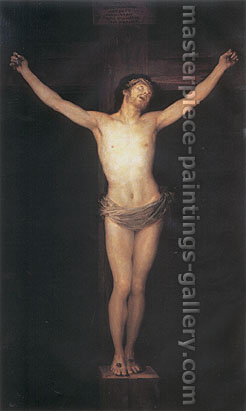 Francisco de Goya, Crucifixion, 1780, oil on canvas, 60.2 x 36.1 in. / 153 x 91.8 cm, US$610