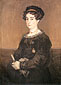 Francisco de Goya, Dona Maria Martinez de Puga, 1824, oil on canvas, 31.5 x 22.8 in. / 80 x 58 cm, US$320.