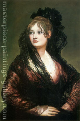 Francisco de Goya, Dona Isabel de Porcel, 1804-05, oil on canvas, 32.3 x 21.3 in. / 82 x 54 cm, US$320