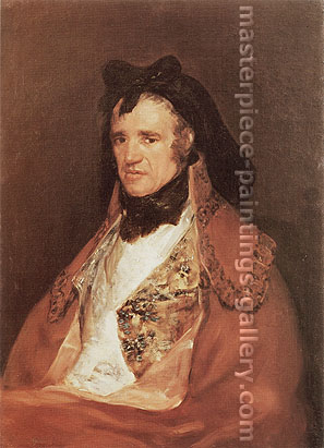 Francisco de Goya, Pedro Macarte, 1805-06, oil on canvas, 30.7 x 22.4 in. / 78 x 57 cm, US$310
