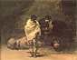 Francisco de Goya, Prison Scene, 1808-12, oil on canvas, 24.8 x 31.5 in. / 63 x 80 cm, US$320