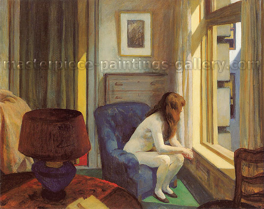 Edward Hopper, Eleven a.m., 1926, oil on canvas, 28.1 x 36.1 in / 71.3 x 91.6 cm, US$320