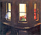 Edward Hopper, Night Windows, 1928, oil on canvas, 29 x 34 in. / 73.7 x 86.4 cm, US$300