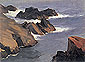 Rocky Sea Shore, 1916-1919, oil on canvas, 24 x 32 in / 61 x 81.3 cm, US$280