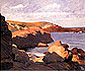 Edward Hopper, Sea at Orgunquit, 1914, oil on canvas, 24.3 x 29.1 in. / 61.6 x 74 cm, US$275