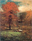 George Inness, The Mill Pond, 1889, oil on canvas, 37.8 x 29.8 in. / 95.9 x 75.6 cm, US$380