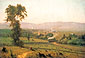 George Inness, The Lackawanna Valley, 1856, oil on canvas, 33.9 x 50 in. / 86 x 127 cm, US$550.